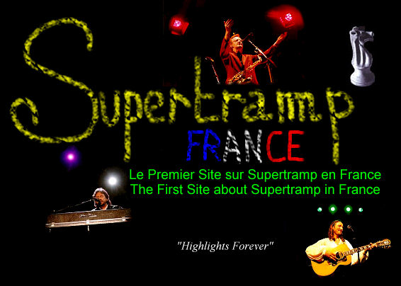Supertramp France 'Highlights Forever' Logo